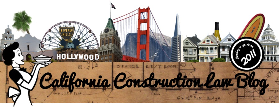 California Construction Law Blog