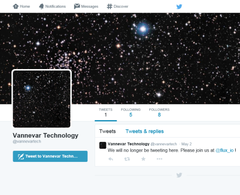 Vannevar tweet